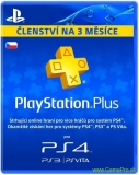 SONY PlayStation Plus Card 90 Day CZE