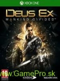 Deus Ex - Mankind Divided (XBOX ONE)