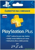 SONY PlayStation Plus Card 90 dní SK