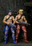Contra Action Figures Bill and Lance Video Game Appearance 18 cm