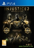 Injustice 2 (Legendary Edition) + Steelbook (PS4)