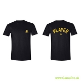 Playstation - Player Gold Foil (T-Shirt)