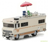 Walking Dead Diecast Model 1/64 Dales 1973 Winnebago Chieftain with Umbrella
