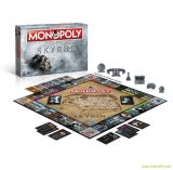 Elder Scrolls 5 Skyrim stolová hra Monopoly  (German Version)