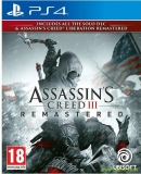 Assassins Creed 3 and Assassins Creed: Liberation (PS4)