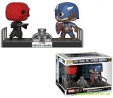 Pop! Marvel - Captain America and Red Skull Movie Moments - 2-Pack (Bobble-Head)