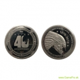 Alien Collectable Coin 40th Anniversary  (silver plated)