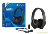 SONY PS4 Gold Wireless Headset 7.1 Boxed