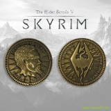 Elder Scrolls V - Skyrim Collectable Coin The Empire Is Law (silver plated)