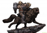 Warcraft - The Beginning socha 1/9 Blackhand Riding Wolf (Standard Version) 40 cm