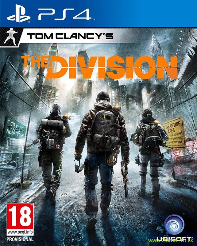 Tom Clancys - The Division CZ (PS4)