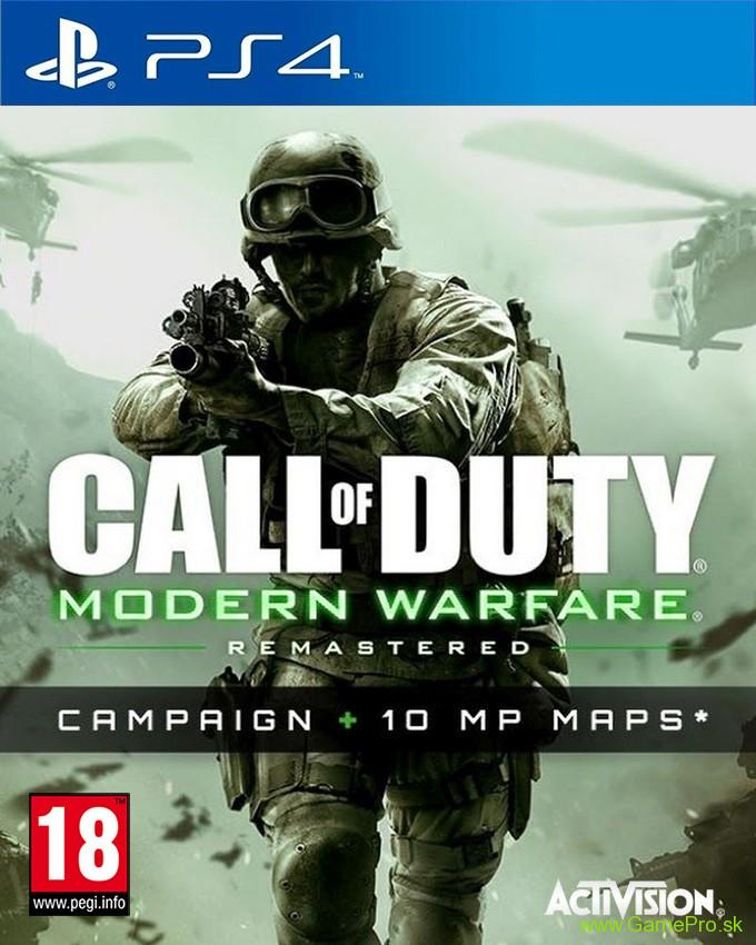 Call of Duty - Modern Warfare Remastered (PS4)