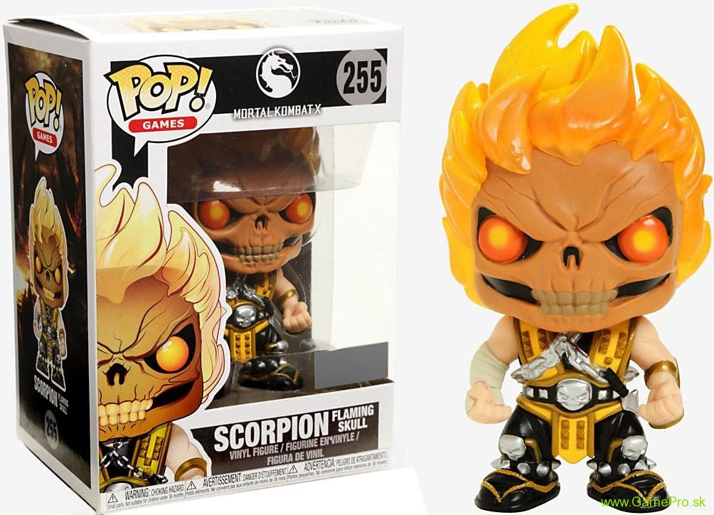 Pop! Games - Mortal Kombat - Scorpion Skull Head