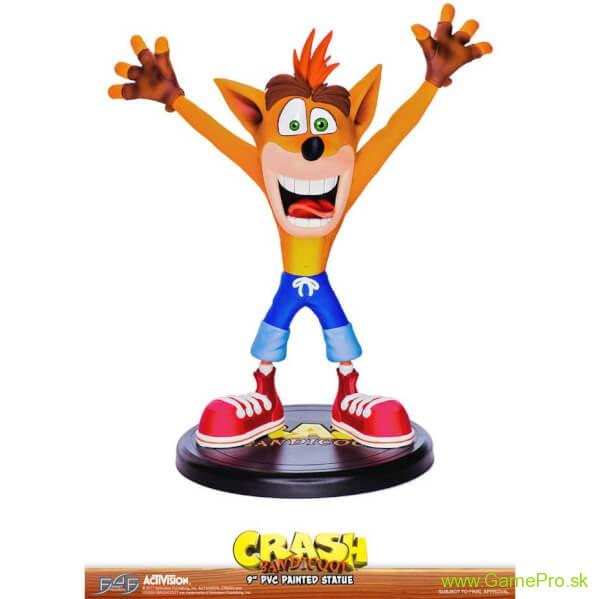 Crash Bandicoot N. Sane Trilogy PVC Statue Crash Bandicoot 23 cm