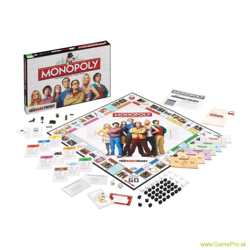 The Big Bang Theory stolová hra Monopoly (English Version)