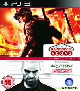 Splinter Cell - Double Agent + Rainbow Six - Vegas (PS3)