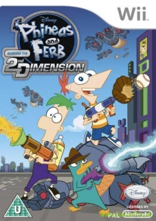 Phineas and Ferb - Across the 2nd Dimension (Wii)