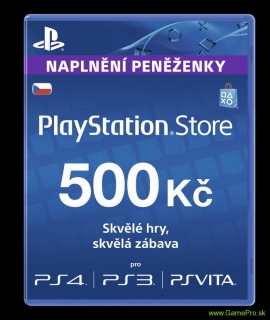 PlayStation Network Card 500 Kč (PSN Card)