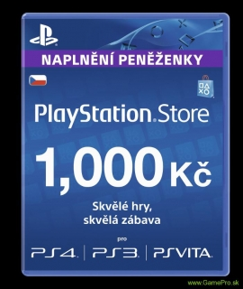PlayStation Network Card 1000 Kč (PSN Card)