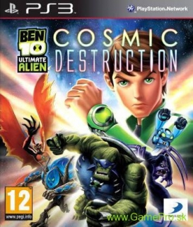 Ben 10 Ultimate Alien - Cosmic Destruction (PS3)
