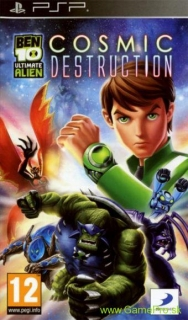 Ben 10 Ultimate Alien - Cosmic Destruction (PSP)