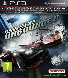 Ridge Racer Unbounded (Limited Edition) (PS3)