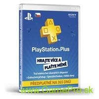 SONY PlayStation Plus Card 365 dní CZE