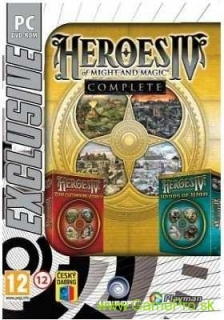 Heroes of Might and Magic 4 CZ (Complete) (PC)