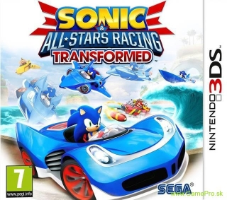 Sonic & All-Stars Racing Transformed (3DS)