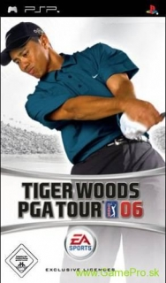 Tiger Woods PGA Tour 06 (PSP)