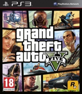 Grand Theft Auto 5 (GTA 5) (PS3)