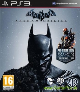 Batman - Arkham Origins (PS3)