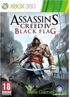 Assassins Creed 4 - Black Flag CZ (XBOX 360)