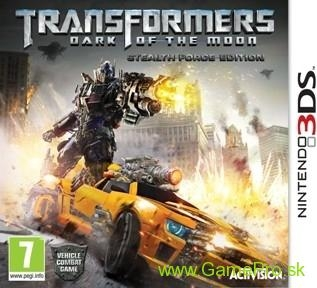 Transformers - Dark of the Moon (3DS)