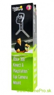 Kinect and Playstation Eye camera mount (X360 + PS3)
