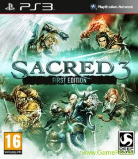 Sacred 3 (First Edition) (PS3)