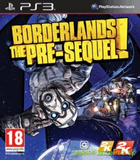 Borderlands: The Pre-Sequel! + bonus DLC (PS3)