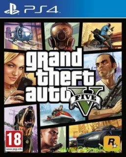 Grand Theft Auto 5 (GTA 5) (PS4)