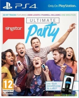 Singstar Ultimate Party PL (PS4)