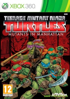 Teenage Mutant Ninja Turtles - Mutants in Manhattan (XBOX 360)