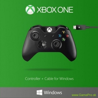Microsoft Xbox One Controller + Cable for Windows (XBOX ONE/PC)