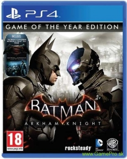 Batman - Arkham Knight (Game of the Year Edition) (PS4)