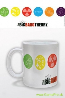 Big Bang Theory hrnček Symbols