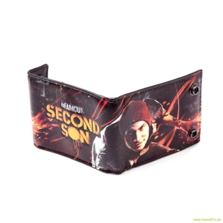 Infamous Second Son peňaženka PU Denim Bifold