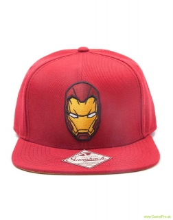 Captain America Civil War Iron Man Snapback