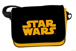 Star Wars Orange Logo Messenger Bag