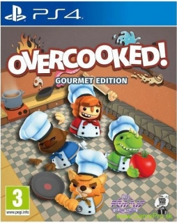 Overcooked (Gourmet Edition) (PS4)