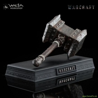 Warcraft - Replica 1/6 Orgrims Doomhammer 20 cm