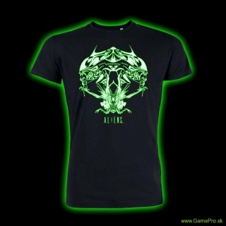 Alien - Tribal Queen Glow In The Dark (T-Shirt)