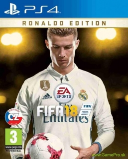 FIFA 18 (Ronaldo Edition) CZ (PS4)